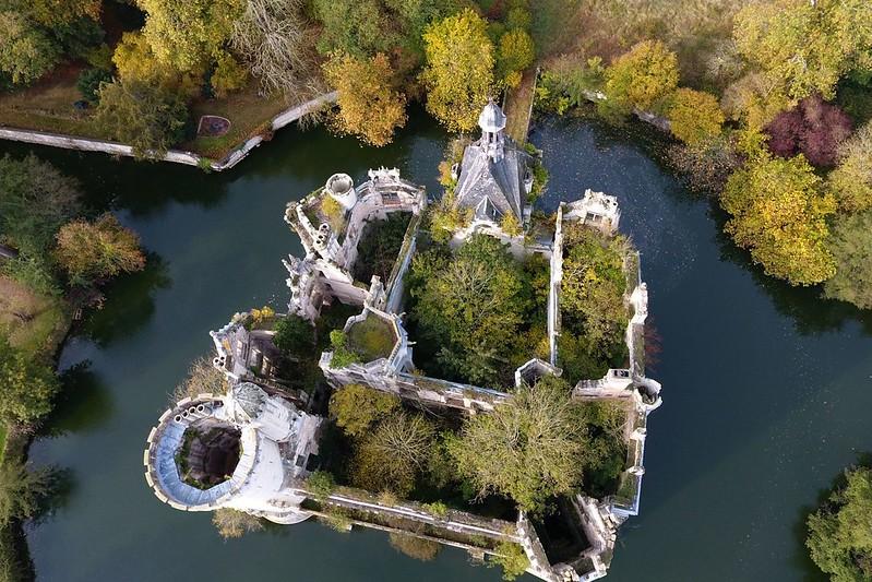 Castillo abandonado Francia