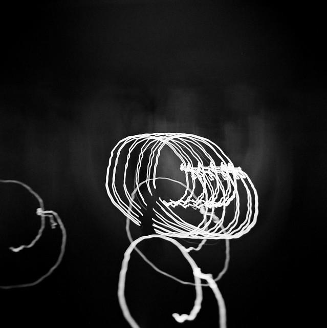 Lichtkreiserln-Komposition
