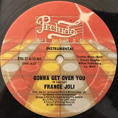 FRANCE JOLI:GONNA GET OVER YOU(LABEL SIDE-B)