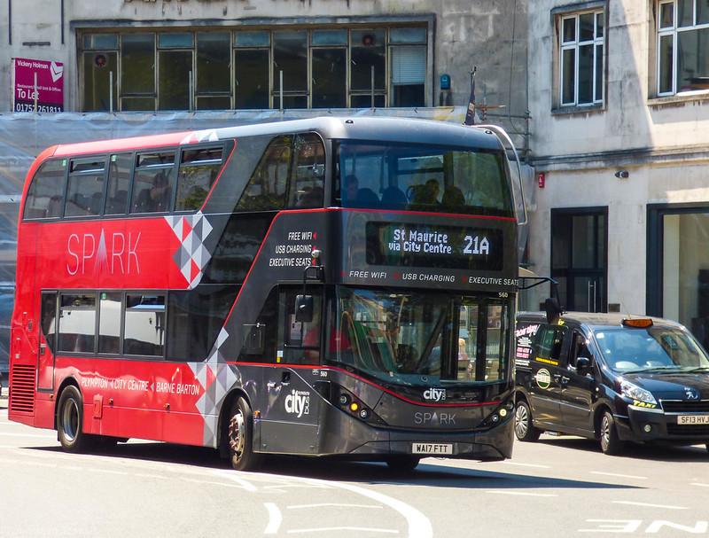 Plymouth Citybus 560 WA17FTT