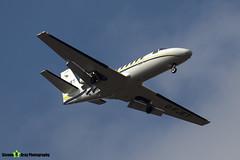 G-FJET - 550-0419 - London Executive Aviation - Cessna 550 Citation II - Luton M1 J10, Bedfordshire - 2018 - Steven Gray - IMG_6662