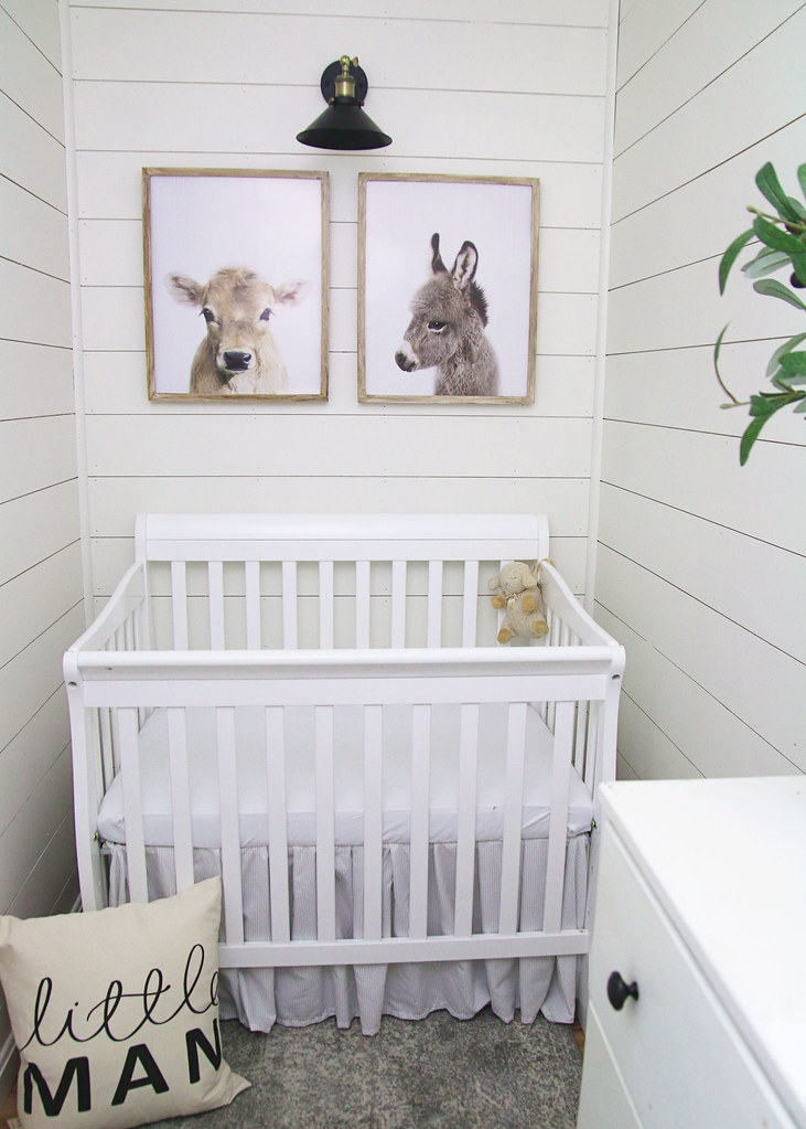 Baby Boy Farmhouse Nursery Reveal