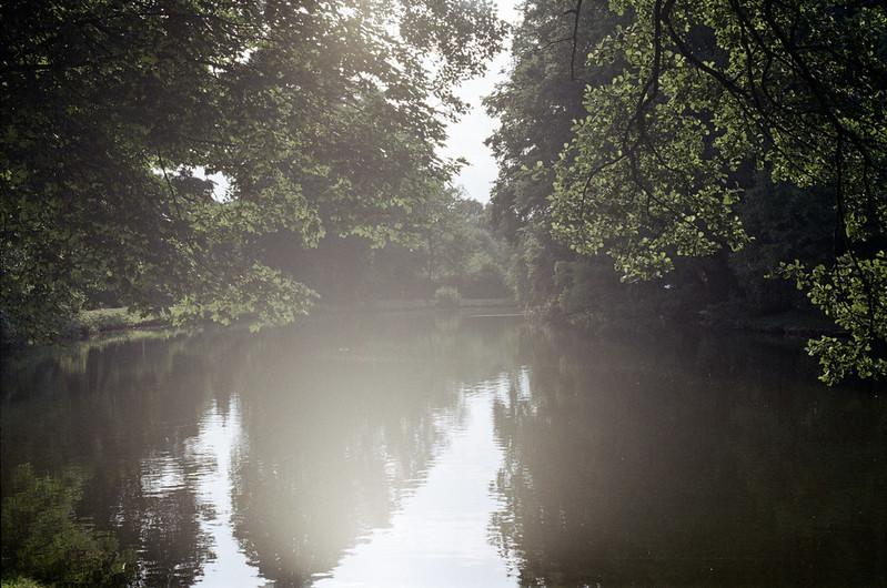 [analog] Delmenhorster Graft im Sonnenlicht