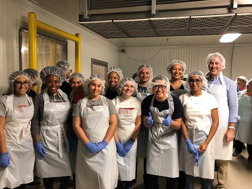 Diversity Summer Internship Food Bank Volunteering