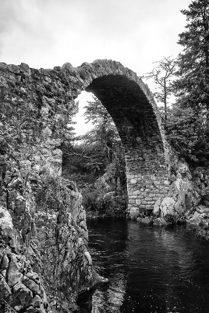 packhorse bridge, carrbridge, Canon EOS 80D, Canon EF 17-40mm f/4L