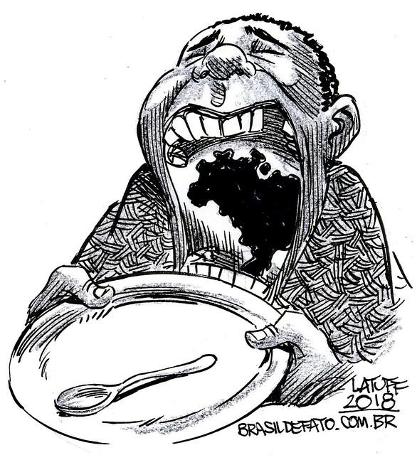 Caravana do povo do Semiárido contra a fome começa dia 27 de julho - Créditos: Latuff