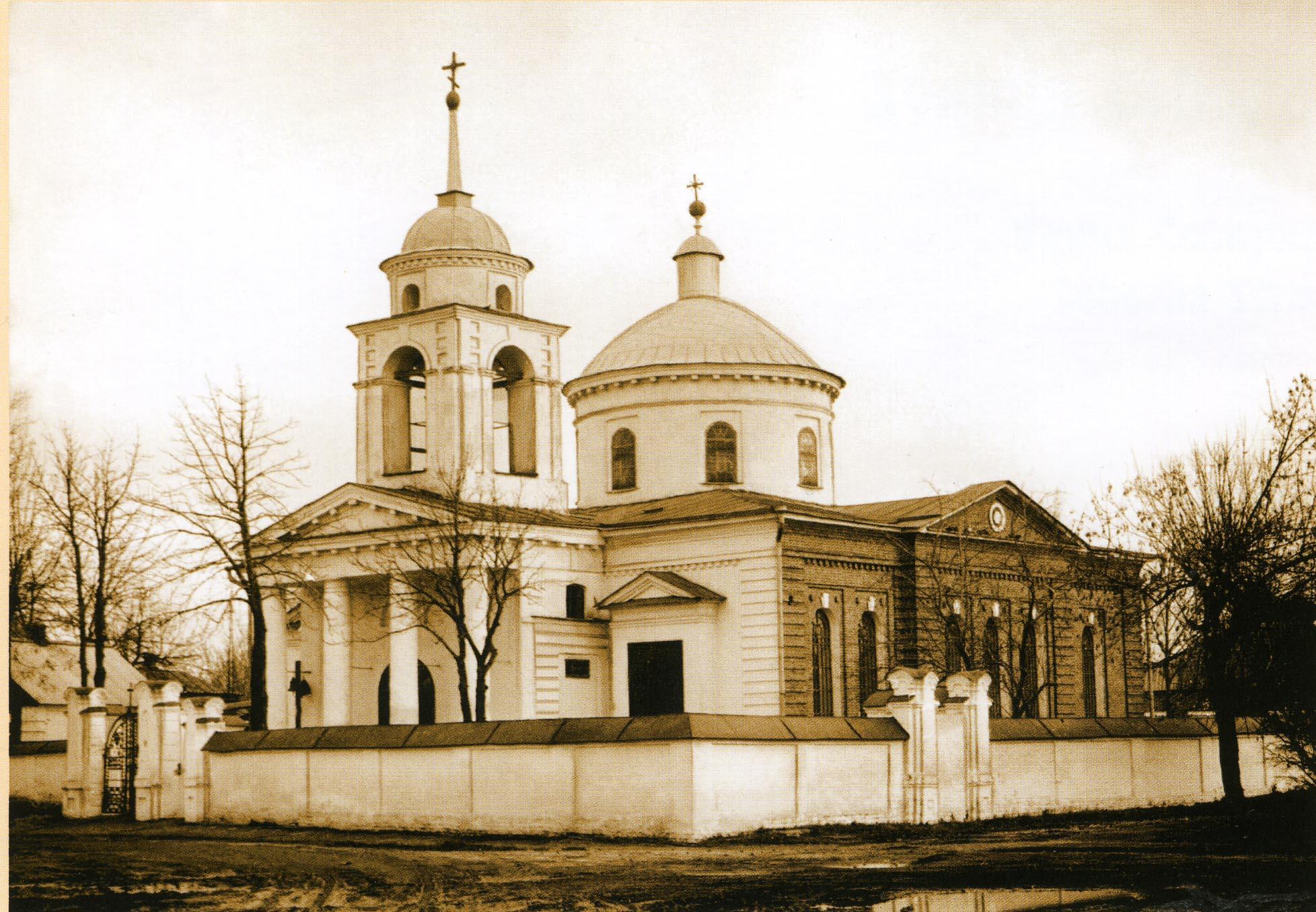 Церковь Иоана Предтечи на Луке.