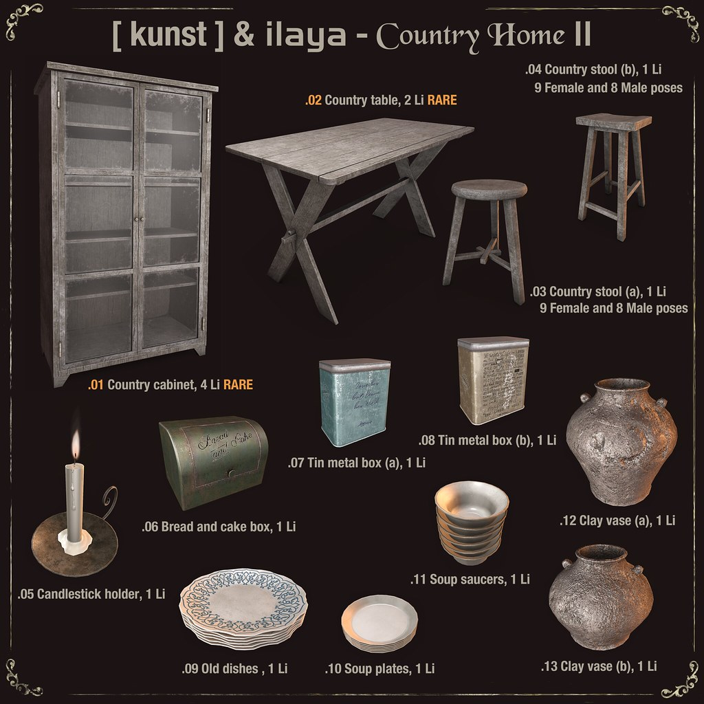 [ kunst ] & [ILAYA] – Country home II