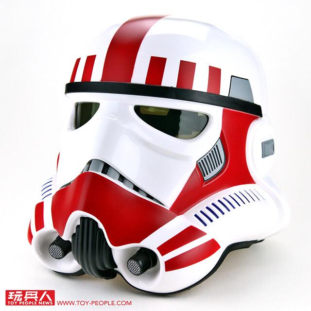 皇帝直屬菁英部隊!孩之寶 - 黑標系列《星際大戰》帝國震擊暴風兵 Imperial Shock Trooper 1:1 比例頭盔