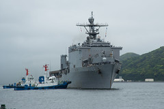 USS Ashland (LSD 48) arrives in Sasebo after completing a