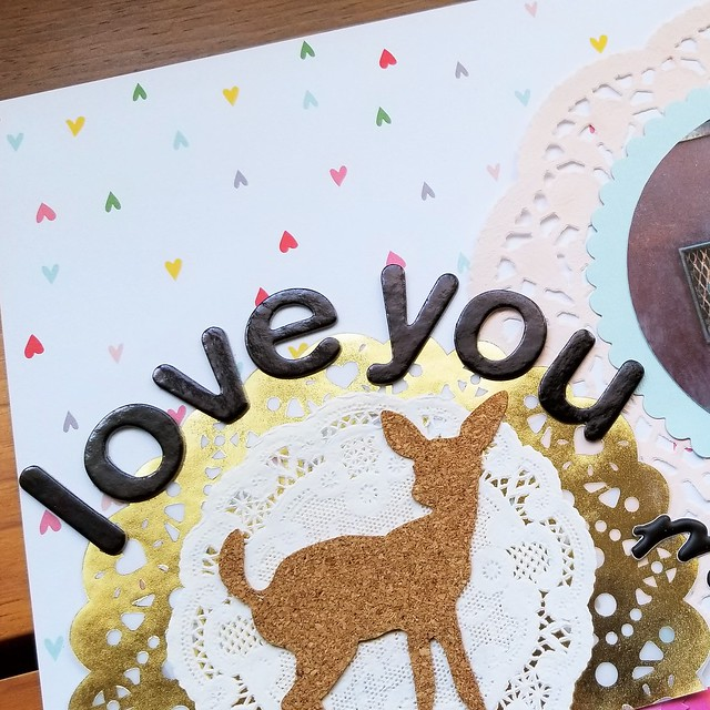 Love You, My Dears Layout | shirley shirley bo birley Blog