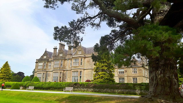 The grand building of Muckross House and Gardens, Killarney National Park