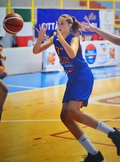 2017-2018 U14F Arianna Arado terza con Pegli