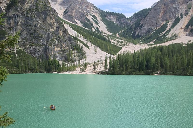 Rowboating @ Lake Braies