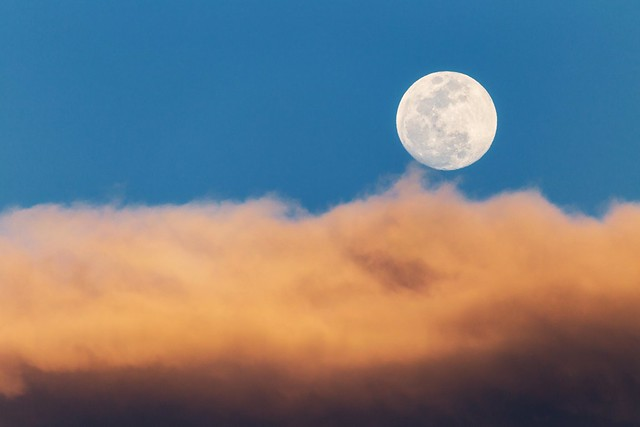 Cloudy Moonrise