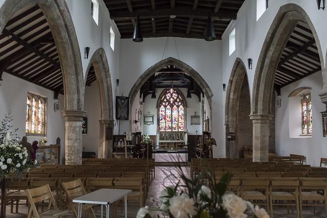 Epworth, St Andrew's church interior