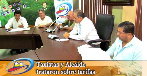 Taxistas y Alcalde trataron sobre tarifas