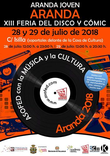 XIII Feria del Disco y Cómic de Aranda de Duero