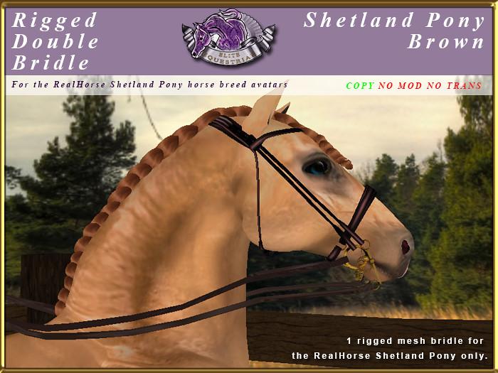 e-rh-Shetland-DoubleBridle-Brown - TeleportHub.com Live!