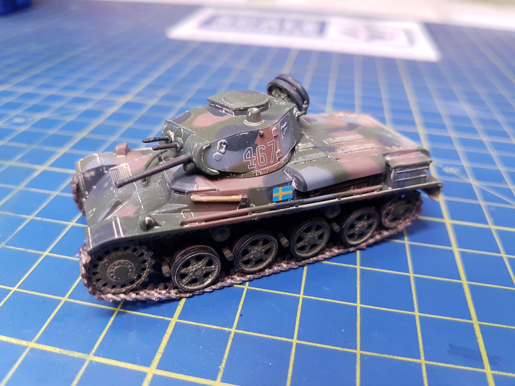 IBG Models 1/72 Stridsvagn m/40L Swedish Light Tank - Sida 2 41645435380_f31830fc0c_k