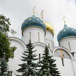 Патриаршее служение в день памяти преподобного Сергия Радонежского в Троице-Сергиевой лавре