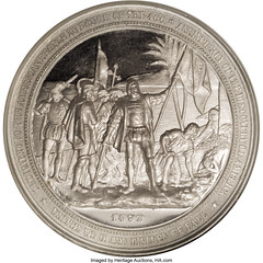 1892 Columbian Exposition Dollar HK-222 reverse