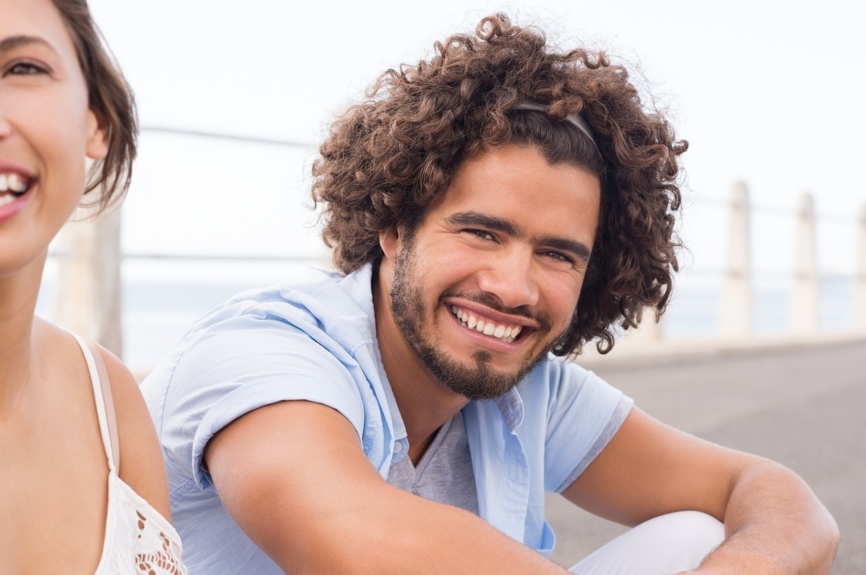 2018 Curly-Haired Men For Cool Look -modern Hairstyles! 5