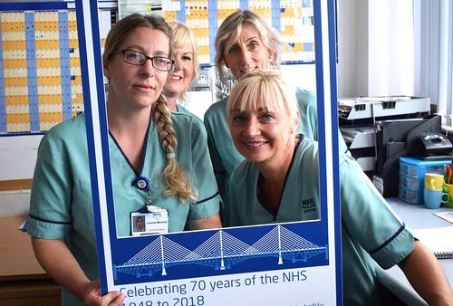 NHS 70 Selfies