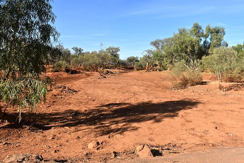 A dry Gascoyne River can quickly flood 7 May 2018