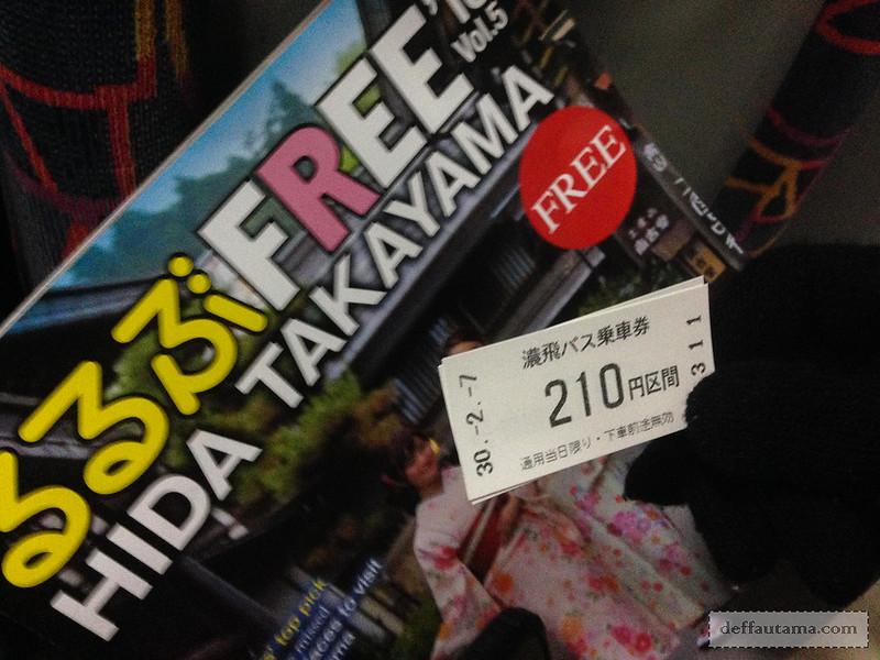 Babymoon ke Jepang - Sarubobo Bus Ticket