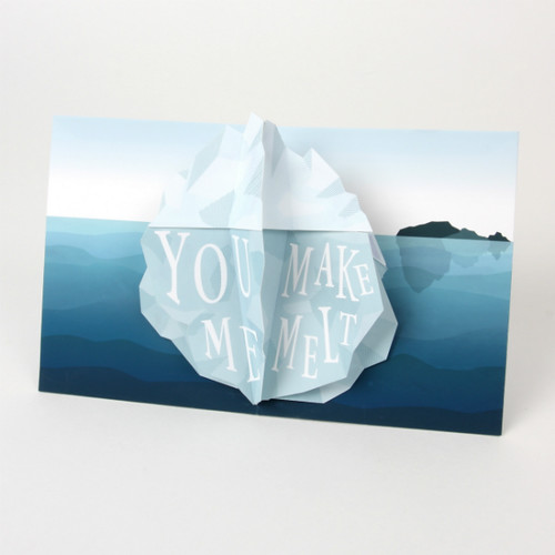 Iceberg Pop-Up Card