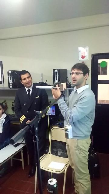Ingeniero y piloto