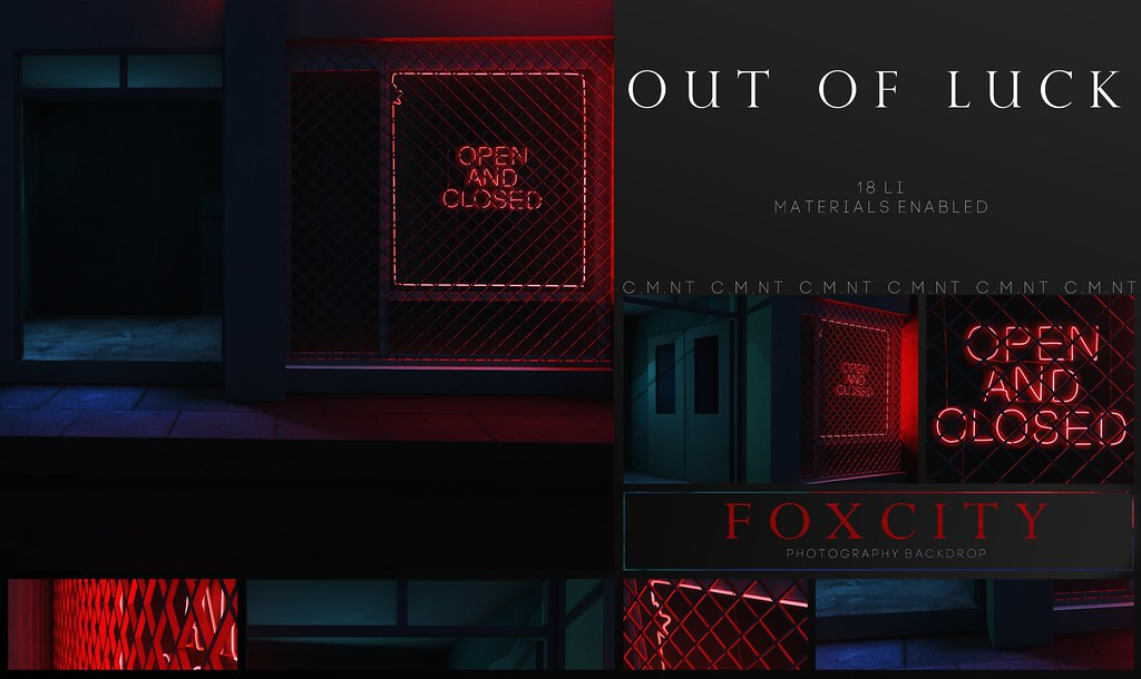 FOXCITY. Photo Booth – Out Of Luck @ Equal10