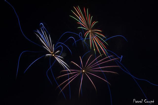 Fireworks Givet 14.07.2018