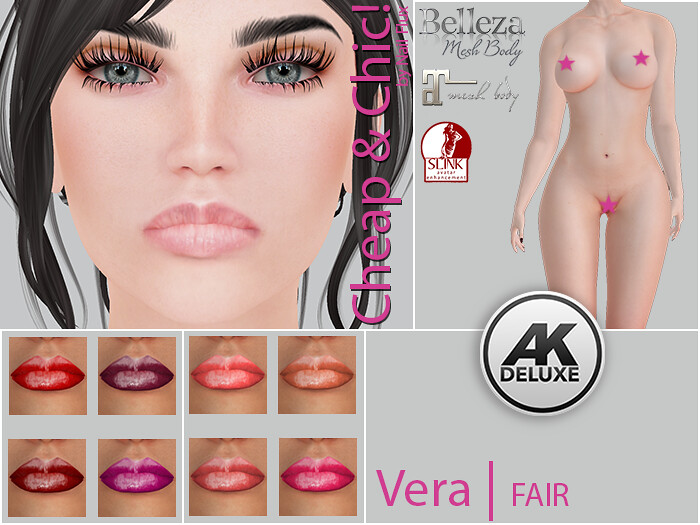Cheap & Chic! Vera-FAIR Skin applier for [AK Deluxe]