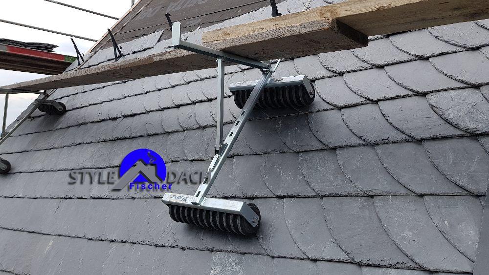 Dachböcke mit Gummirollen