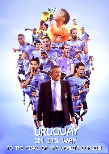 URUGUAY 5° BEST IN THE WORLD ( WORLD'S CUP 2018 RUSSIA )