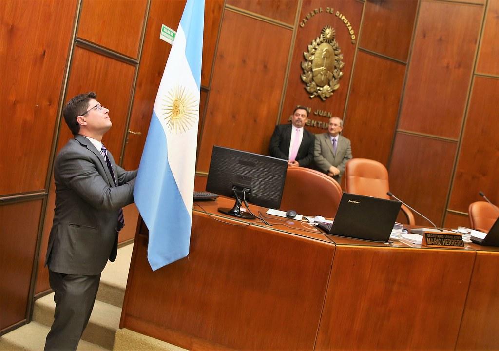 La Cámara de Diputados de San Juan desarrolló este jueves 5, la Sexta Sesión del período ordinario