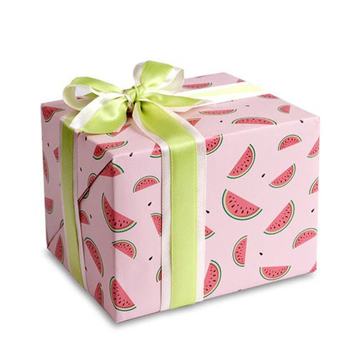Watermelon Print Wrapping Paper