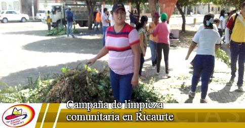 Campaña de limpieza comunitaria en Ricaurte
