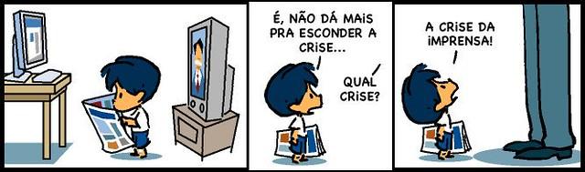 Image result for charge midia brasileira