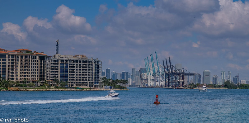 Biscayne Bay, Miami Beach, Florida