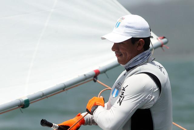 Hernández segundo oro en la vela de Barranquilla
