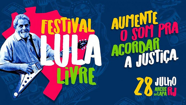 Organized by the People's Brazil Front and the People Without Fear Front, the festival will start at 2pm with art and music performances - Créditos: Handout