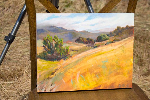 For Earth Day 2018, 24 artists painted our Upper Chiquita Canyon Conservation Area.