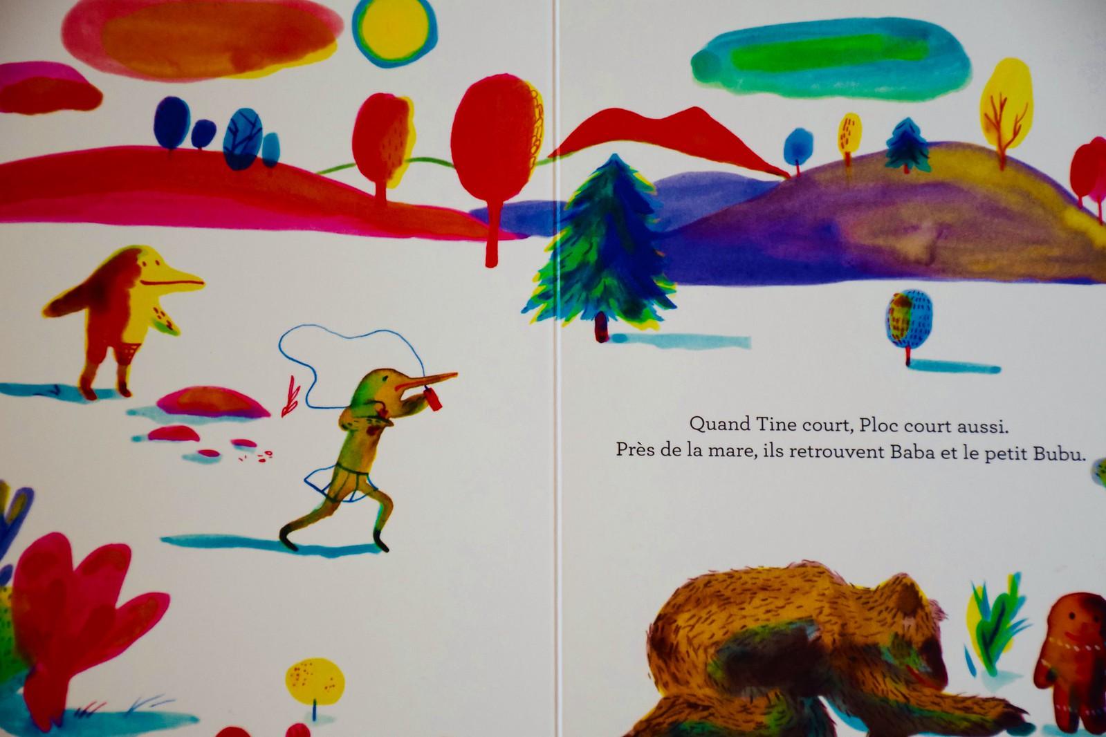 Ploc, ¿verdad que tiene unas ilustraciones preciosas?