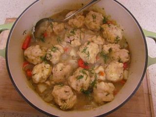 Dilly Stew with Rosemary Dumplings