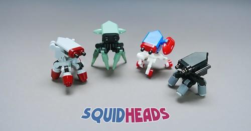 SQUIDHEADS LEGO MOC
