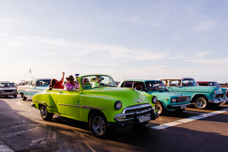 Shades of Green in Havana