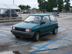 1989 Ford Festiva 3 door hatchback